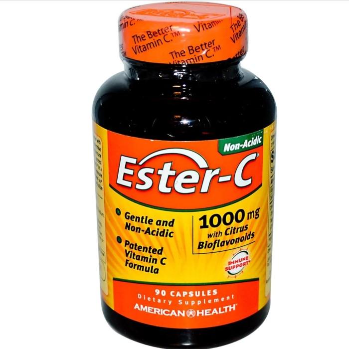Foto Produk American health ester c 1000 mg with bioflavonoid isi 90 capsule dari vitamindo