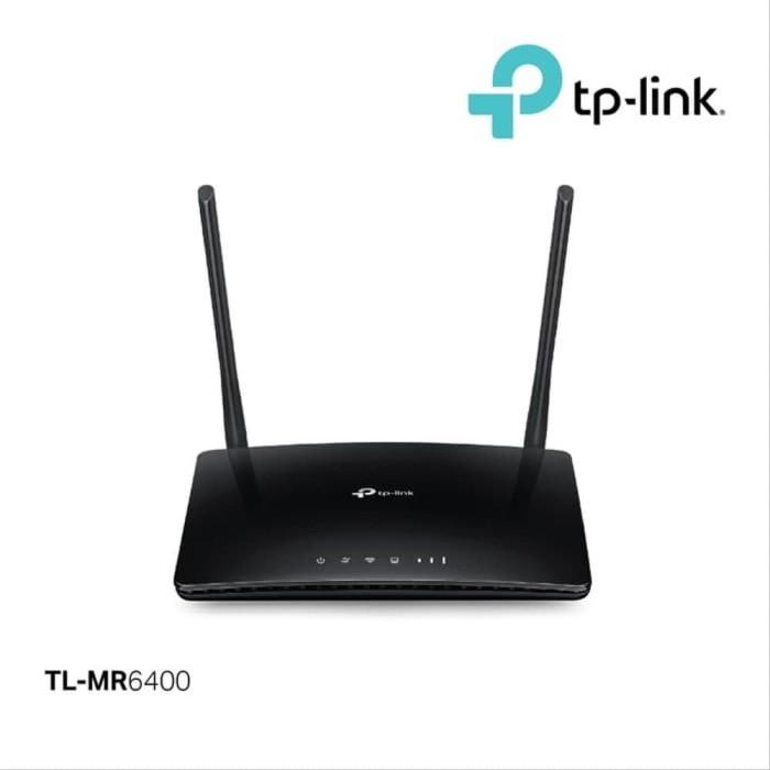 Foto Produk TP-LINK MR6400 WIRELESS N 4G LTE ROUTER dari PojokITcom Pusat IT Comp