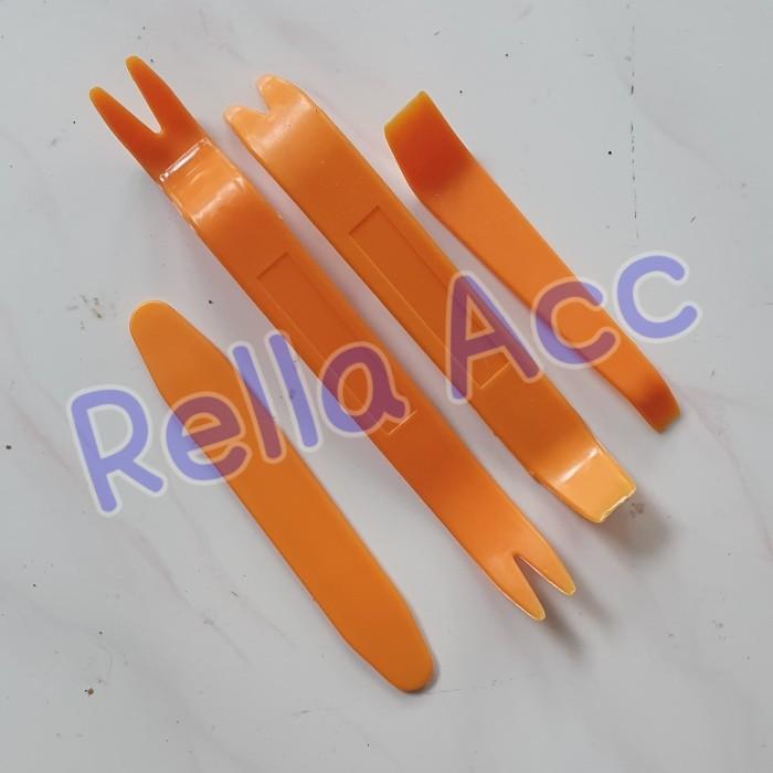 Foto Produk Car 4 in 1 Removal Pry Tool / Pengungkit Pencongkel Dashboard Mobil dari Rella Acc