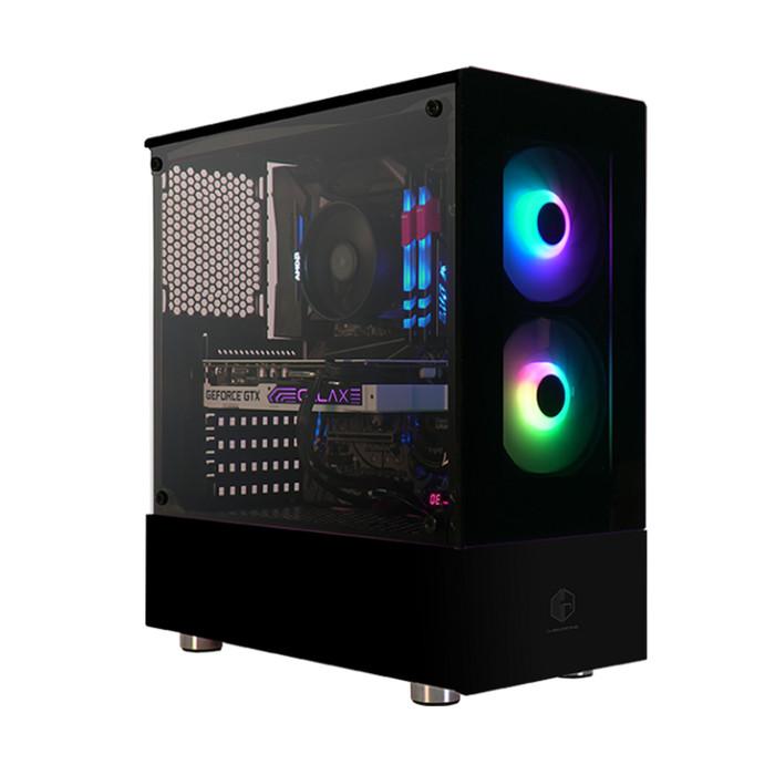 Foto Produk CUBE GAMING CABAZON - BLACK dari Flazz Computer Pekanbaru