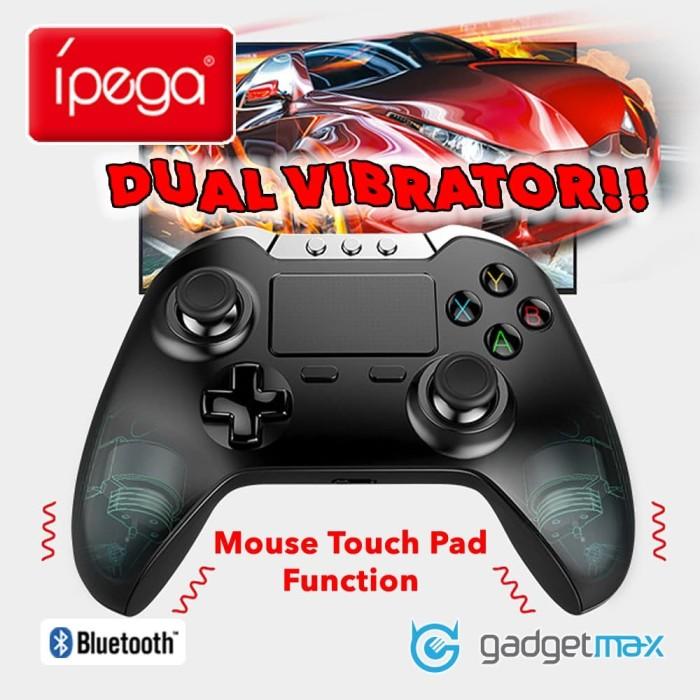 Foto Produk Ipega Dual Vibrator Android Bluetooth Wireless Game Controller dari Gadgetmax.net