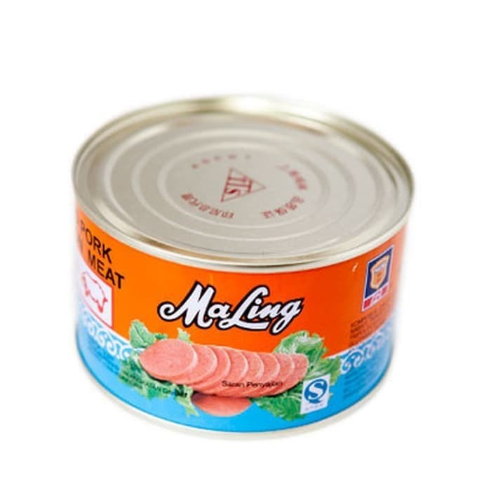 Foto Produk Maling Daging Babi Olahan TTS 397 gram / Luncheon Meat (Kemasan Besar) dari Varian Mart