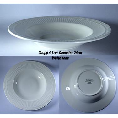 Foto Produk Piring Sup elegant brand |Export Murah|Soup Plate MKS dari GALAXY HouseholdCeramics