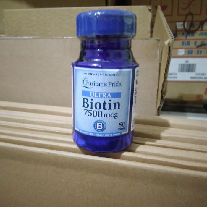 Foto Produk Biotin Puritan's Pride 7500mcg (50tablet) penyok dari Windy-Liv