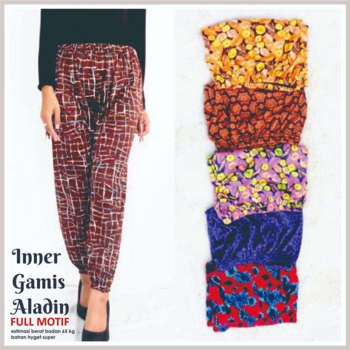 Jual Celana Legging Wanita Aladin Motif Inner Dalaman Gamis Syari Murah Kab Magelang Hans Original Handmade Tokopedia