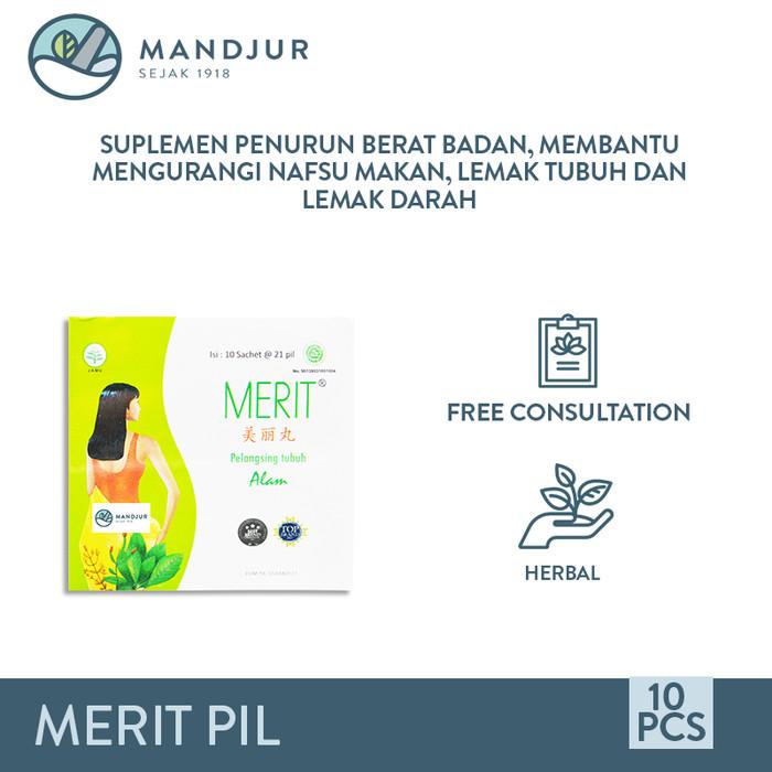 Foto Produk Merit Natural Body Slimming - Penurun Berat Badan, Pelancar BAB dari mandjur