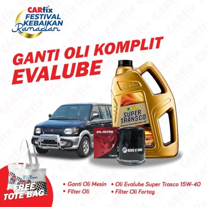 Foto Produk Service Ganti Oli Komplit Evalube Diesel Kuda - CARfix JATENG DIY dari CARfix Indonesia