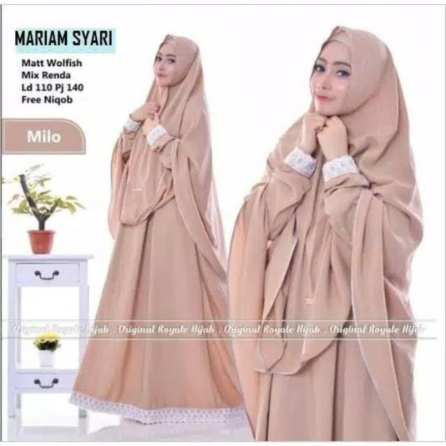 Foto Produk Mariam syari   Gamis Dewasa   Gamis Syari'i   Pakaian Muslim   Pakaian dari zam collection