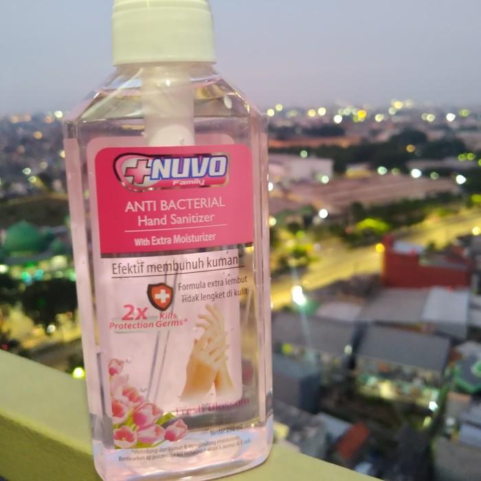 Foto Produk Nuvo Hand Sanitizer 250ml - Merah Muda dari Fransiska Fashion