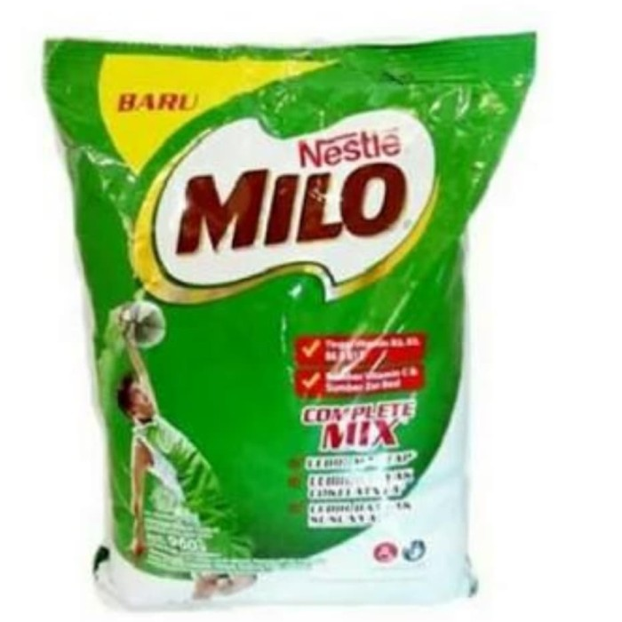 Foto Produk Nestle Milo Complete Mix 960 Gram / Susu Bubuk dari Goroa