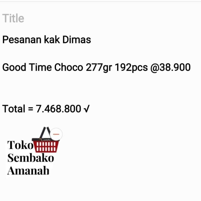 Foto Produk pesanan Kak Dimas dari Sembako Amanah20