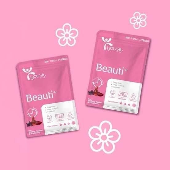 Jual Youvit Gummy Multivitamin Beauti+ isi 7 pcs - Kota Bekasi - Run_D  Store | Tokopedia
