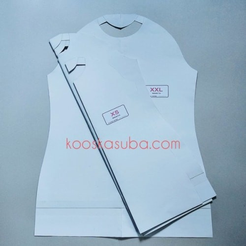 Foto Produk Pola Kaos Oblong & Raglan Model Pria & Wanita Serta Celana Training dari Jamilah Tuu Saidah