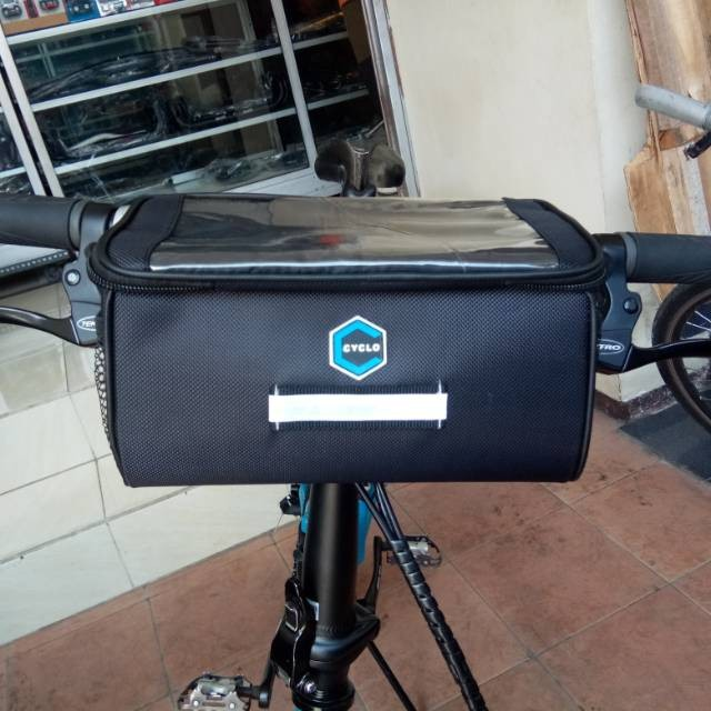 Jual Tas Depan Stang Sepeda Lipat Bentuk Tabung Tali Panjang Kab Sidoarjo Galerimuslimah Bs Tokopedia