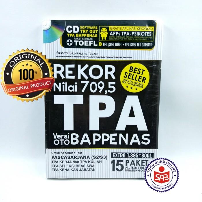 Foto Produk Rekor Nilai 709,5 TPA Versi OTO BAPPENAS - Aristo Chandra dari Social Agency Baru