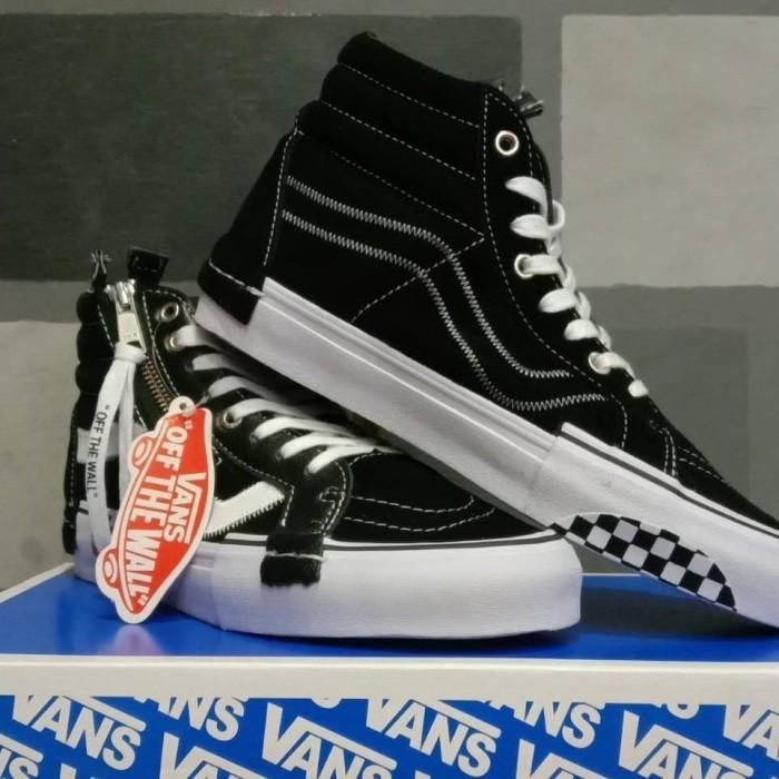 Vans SK8 Hi CAP LX Black True White