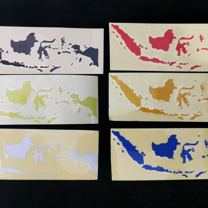 Foto Produk Sticker Peta Indonesia folding bike brompton dahon fnhon litepro dari Juragan Abun