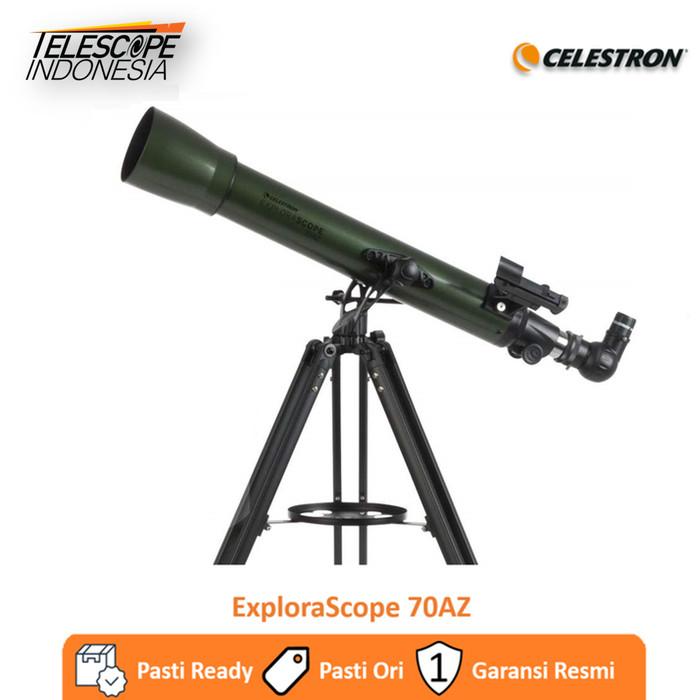 Foto Produk Celestron ExploraScope 70AZ Teleskop dari TelescopeIndonesia