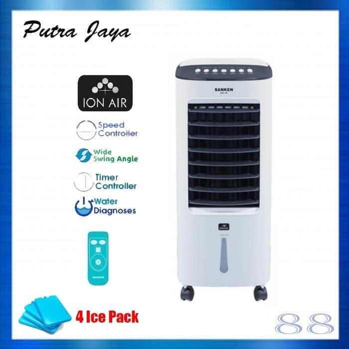 Foto Produk Air Cooler Sanken SAC-38 Canggih Fitur Humidifier & Ion Air dari Putra Jaya 88