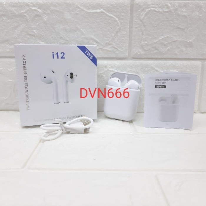 Jual Airpords Tws I12 Airpods Earphone Headset Wireless Original Bluetooth Jakarta Pusat Dvn666acc Tokopedia