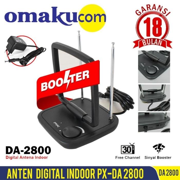 Foto Produk Antena TV Digital Indoor Booster PX DA-2800 dari Omakucom