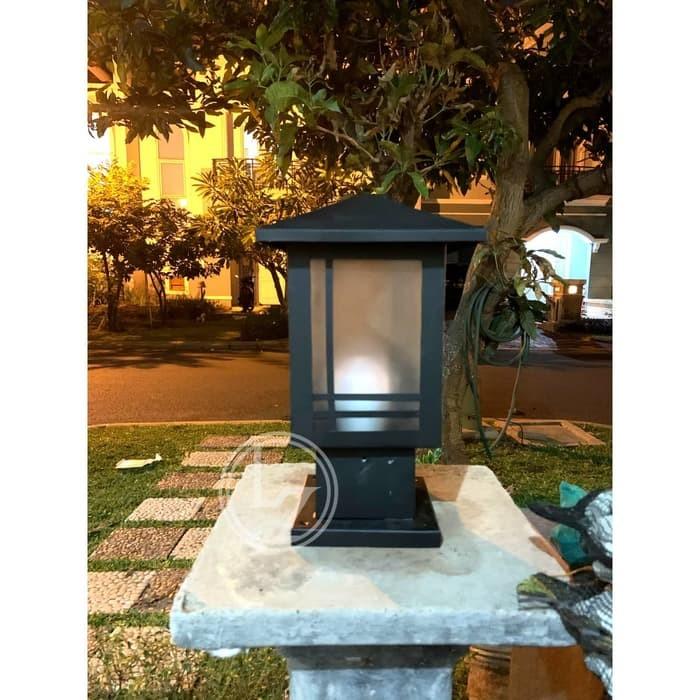 Jual Baru Lampu Taman Minimalis Pilar 02 Trendy Jakarta Barat Krido Store 88 Tokopedia