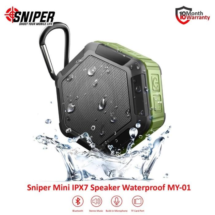 Foto Produk Speaker Bluetooth Sniper Mini MY-01 Water Proof dari DigitalE-