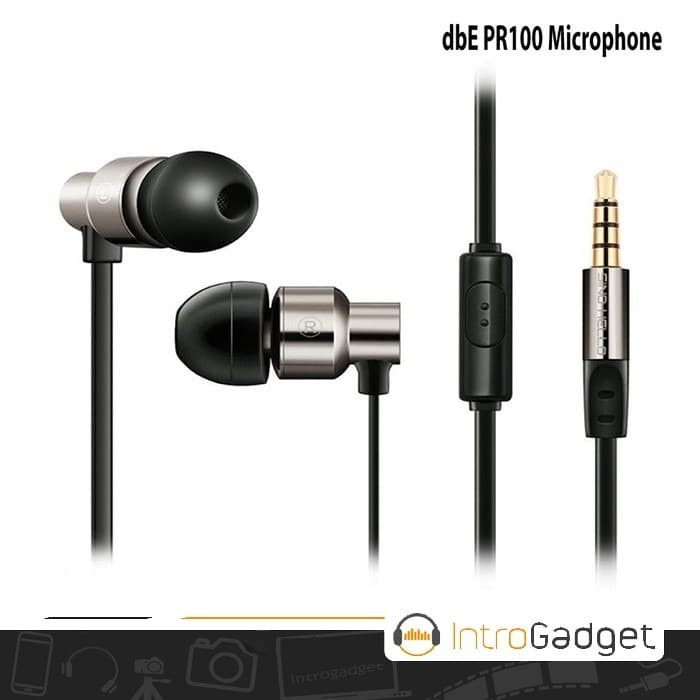 Foto Produk Earphone dbE Acoustics PR100 With Microphone dari DigitalE-
