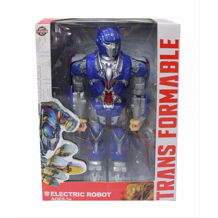 Foto Produk Mainan Anak Electric ROBOT TRANSFORMABLE Transformers Optimus Prime dari Lumi Toys