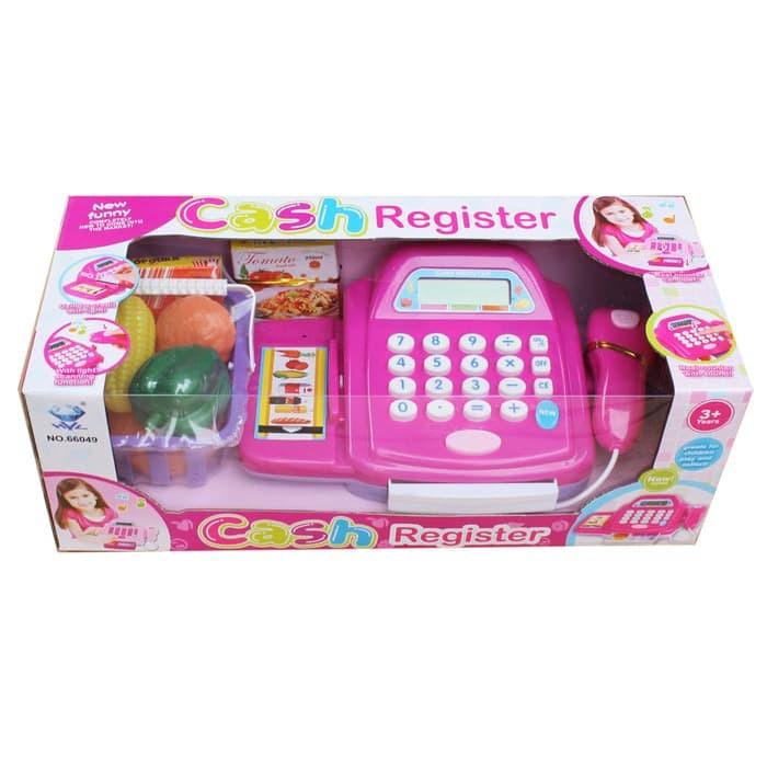 Foto Produk Mainan Kasir Anak Cash Regiter / Mainan Cashier 66049 dari Lumi Toys