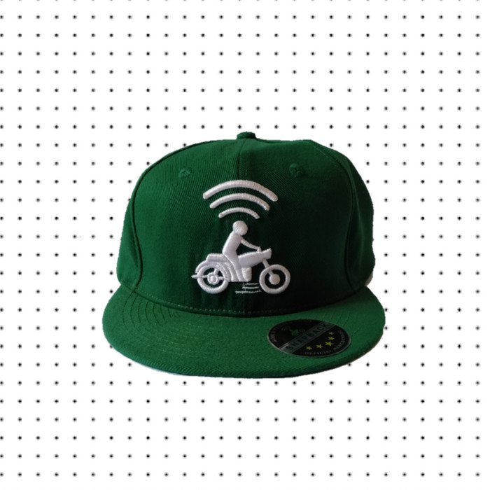 Jual Topi Snapback Gojek Official Kota Pekalongan Sengrick Tokopedia