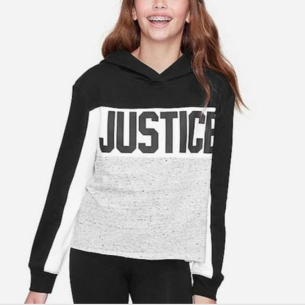Jual Sweater Hoodie anak perempuan merk justice sisa ...