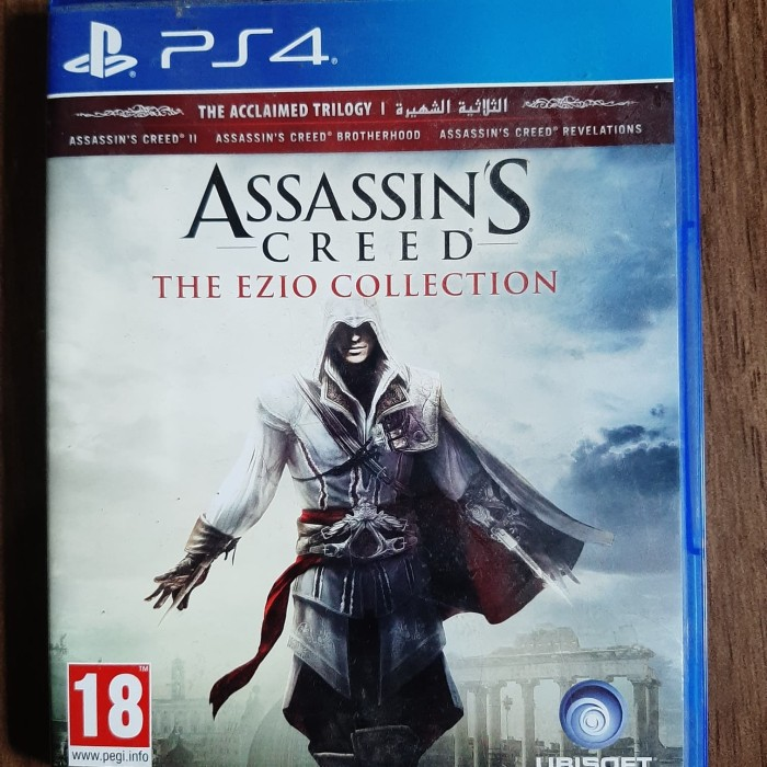 Jual Assassin S Creed The Ezio Collection Reg 2 Ps4 Kota Bogor Irfan S Corner Tokopedia
