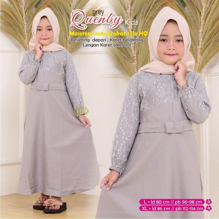 Jual Gamis Quenby Anak Baju Pesta Modern Baju Busana Muslim Anak Wanita Kota Pekalongan Sf Colection Tokopedia