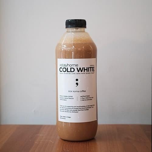 Foto Produk Cold White 1 Liter - 1000ml dari titikkomacoffee