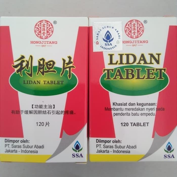 Foto Produk PT SSA Lidan Tablets - Obat Herbal Batu Empedu dari bintang888