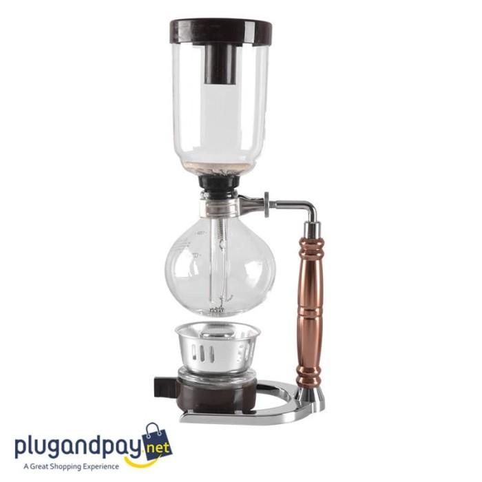 Foto Produk Siphon Coffee Maker Vacuum Pot Alat Kopi Sipon Sifon Barista dari plugandpay