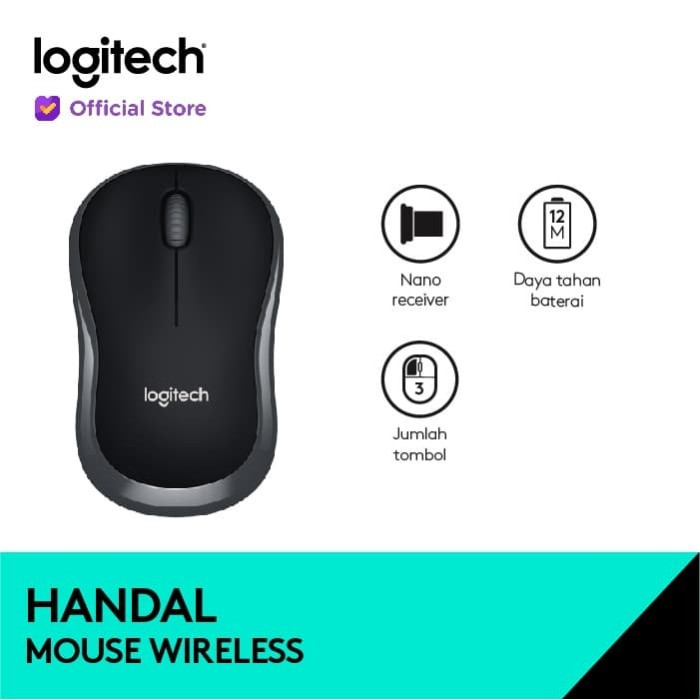 Foto Produk Logitech B175 Wireless Mouse dari Logitech Official Store