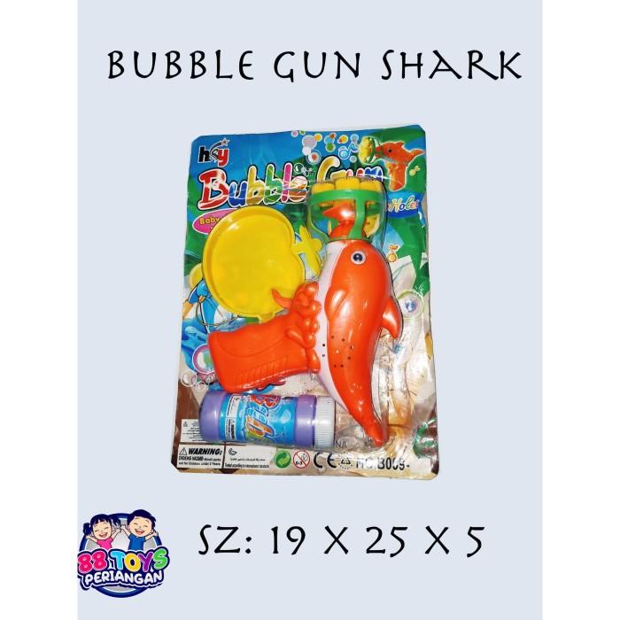 Foto Produk MAINAN BUBBLE GUN PISTOL GELEMBUNG BABY SHARK dari Periangan Toys