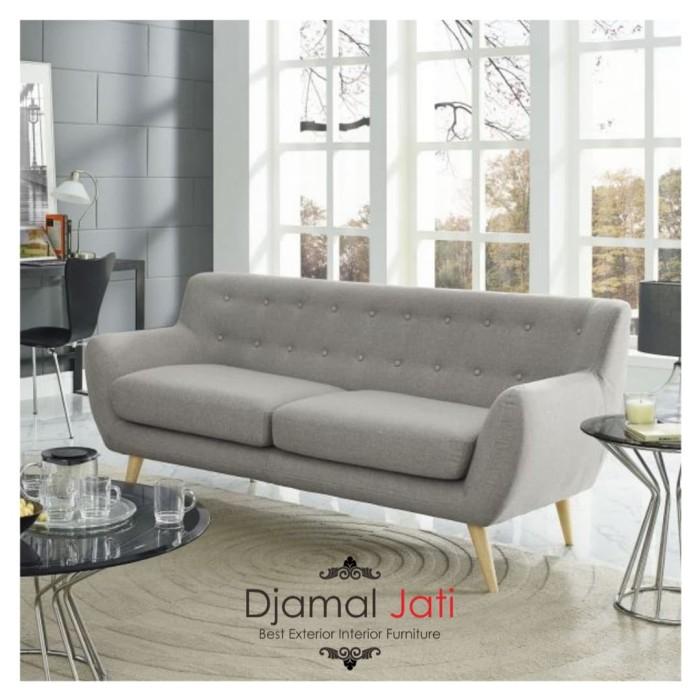Jual Kursi Sofa Retro 2 Seater Sofa Minimalis Harga Ekonomis Kab Jepara Djamal Jati Furniture Tokopedia