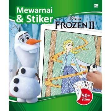 Foto Produk Frozen II: Mewarnai & Stiker - Disney - Gramedia - Original dari Toko Kutu Buku