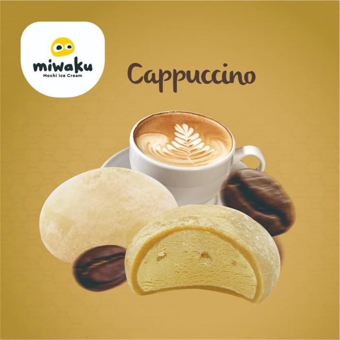 Foto Produk New - Miwaku Mochi Ice Cream Cappuccino (isi 3pcs) dari Miwaku Indonesia