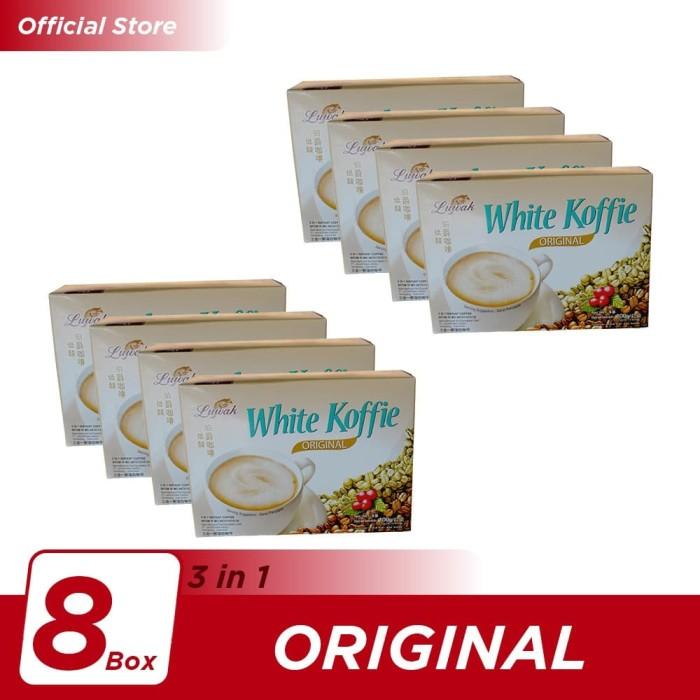 Foto Produk Kopi Luwak White Koffie Original Box 5x20gr - 8 Pcs dari Kopi Luwak Official