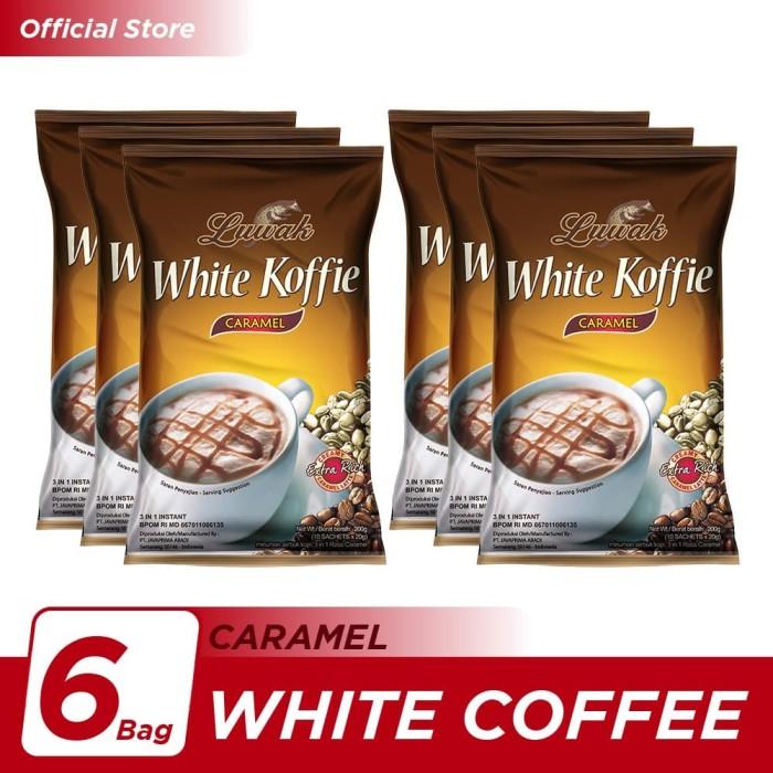 Foto Produk Kopi Luwak White Koffie Caramel Bag 10x20gr - 6 Pcs dari Kopi Luwak Official