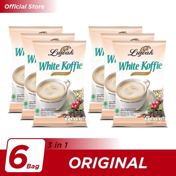 Foto Produk Kopi Luwak White Koffie Original Bag 10x20gr - 6 Pcs dari Kopi Luwak Official