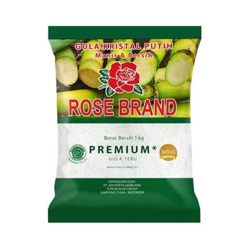 Foto Produk GULA ROSE BRAND PUTIH GULA PASIR 1 KG dari joe-shop