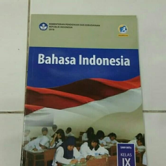Jual Buku Paket Pelajaran Bahasa Indonesia Kelas 9 Kurikulum 2013 Jakarta Selatan Zakirbook Tokopedia