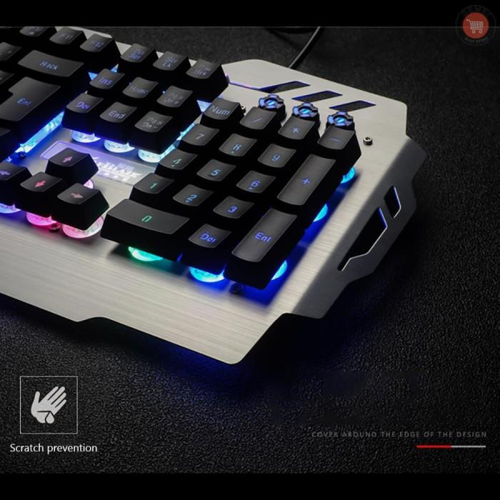 Jual G M 7pin Pk 900 Keyboard Gaming Komputer Rgb Backlight Jakarta Barat Laris Manis21 Tokopedia