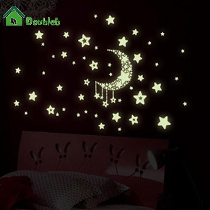 Jual Great Luminous Stars Sky Wall Sticker Night Light Kids Rooms Jakarta Barat Laris Manis21 Tokopedia