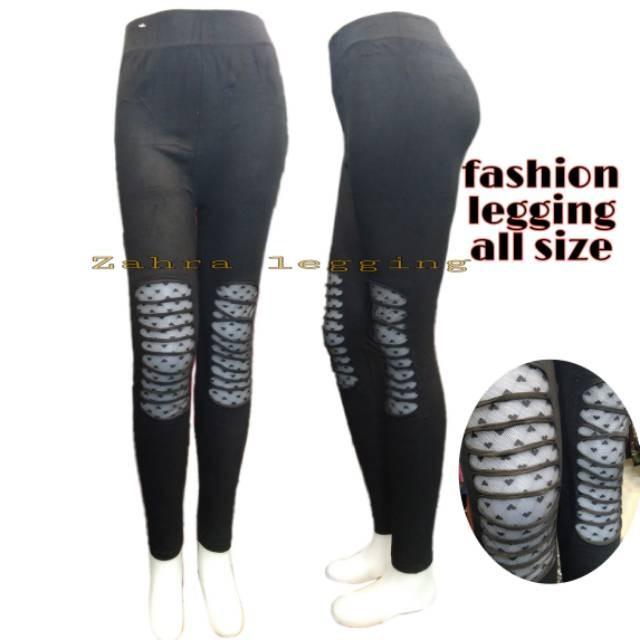 Jual Fashion Legging Motif Sobek All Size Jakarta Barat Ikhulstore Tokopedia